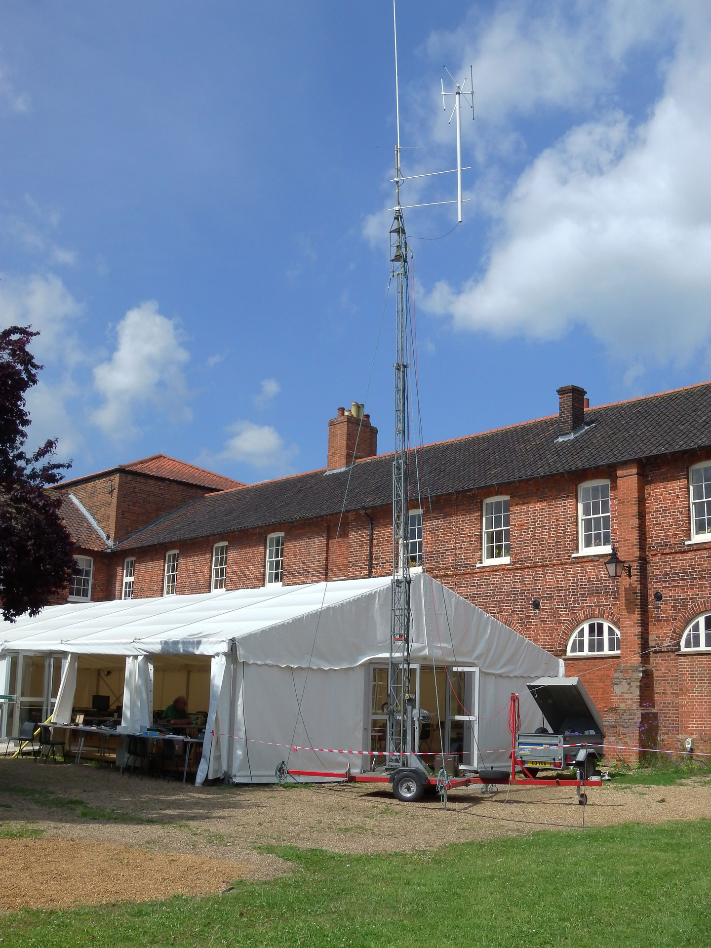 GB5GFW base for the weekend